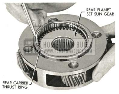 1959 Buick Triple Turbine Transmission - Rear Carrier Thrust Ring