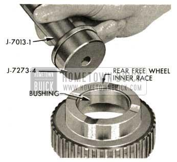 1959 Buick Triple Turbine Transmission - Rear Free Wheel Inner Face