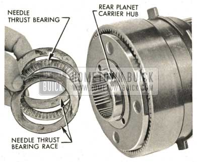 1959 Buick Triple Turbine Transmission - Rear Planet Carrier Hub