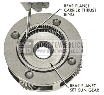 1959 Buick Triple Turbine Transmission - Rear Planet Carrier Thrust Ring