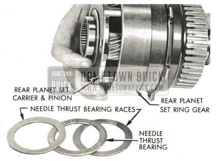 1959 Buick Triple Turbine Transmission - Rear Planet Set Ring Gear
