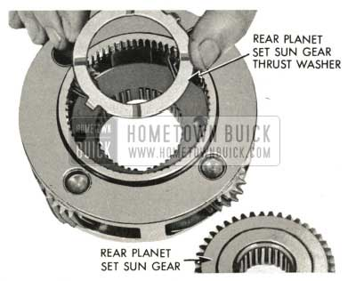 1959 Buick Triple Turbine Transmission - Rear Planet Set Sun Gear Thrust Washer