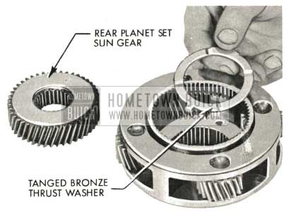 1959 Buick Triple Turbine Transmission - Rear Planet Set Sun Gear