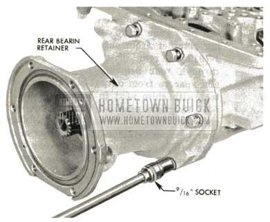 1959 Buick Triple Turbine Transmission - Remove Loading Tool