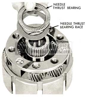 1959 Buick Triple Turbine Transmission - Remove Needle Thrust Bearing Race