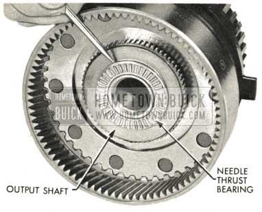 1959 Buick Triple Turbine Transmission - Remove Needle Thrust Bearing