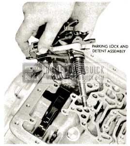 1959 Buick Triple Turbine Transmission - Remove Parking Lock