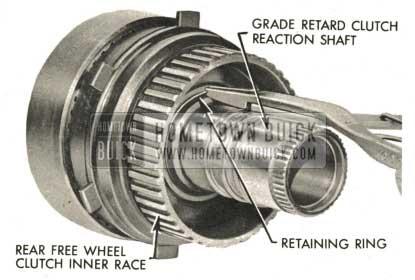 1959 Buick Triple Turbine Transmission - Remove Rear Fee Wheel Inner Race