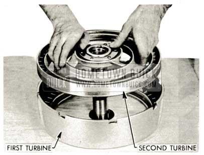 1959 Buick Triple Turbine Transmission - Remove Second Turbine