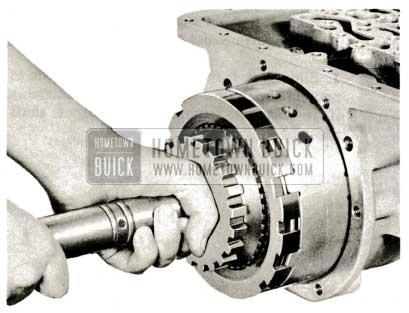 1959 Buick Triple Turbine Transmission - Remove Slide Hammer