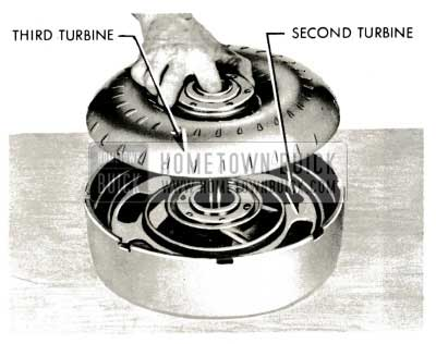 1959 Buick Triple Turbine Transmission - Remove Third Turbine