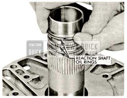 1959 Buick Triple Turbine Transmission - Replace Reaction Shaft Oil Rings