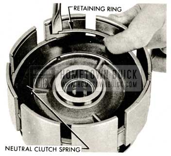 1959 Buick Triple Turbine Transmission - Retaining Ring