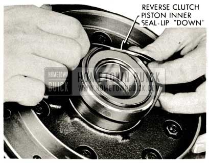 1959 Buick Triple Turbine Transmission - Reverse Clutch Inner Oil Seal-Lip