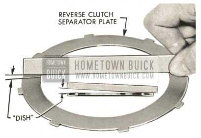 1959 Buick Triple Turbine Transmission - Reverse Clutch Separator Plate