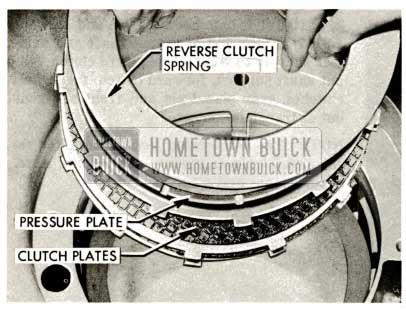 1959 Buick Triple Turbine Transmission - Reverse Clutch Spring