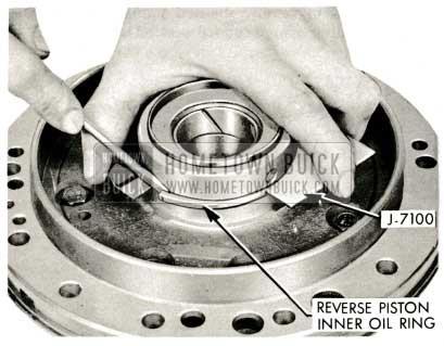 1959 Buick Triple Turbine Transmission - Reverse Piston Inner Oil Ring
