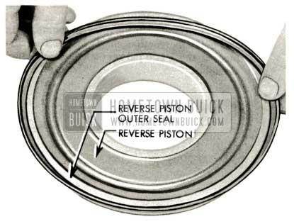1959 Buick Triple Turbine Transmission - Reverse Piston Outer Seal