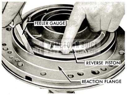 1959 Buick Triple Turbine Transmission - Reverse Piston Seals