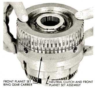 1959 Buick Triple Turbine Transmission - Ring Gear Carrier