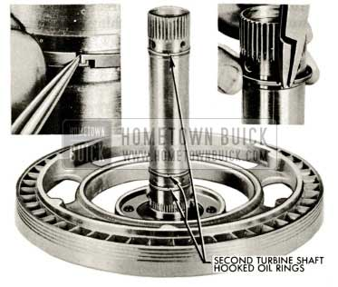 1959 Buick Triple Turbine Transmission - Second Turbine Shaft