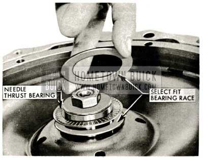 1959 Buick Triple Turbine Transmission - Select Fit Bearing Race