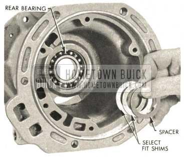 1959 Buick Triple Turbine Transmission - Select Fit Shims