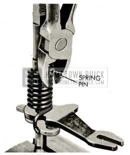 1959 Buick Triple Turbine Transmission - Spring Pin