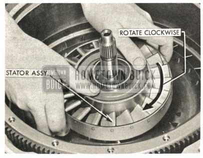 1959 Buick Triple Turbine Transmission - Stator Assembly