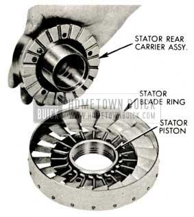 1959 Buick Triple Turbine Transmission - Stator Blades
