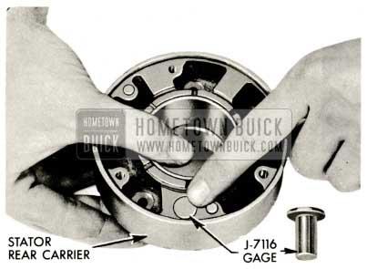 1959 Buick Triple Turbine Transmission - Stator Control Valve Gage J-7116