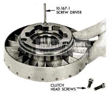 1959 Buick Triple Turbine Transmission - Stator Free Wheel Cam Assembly