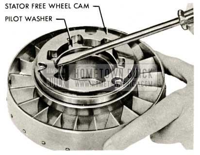 1959 Buick Triple Turbine Transmission - Stator Free Wheel Cam
