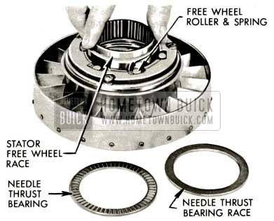 1959 Buick Triple Turbine Transmission - Stator Free Wheel Race