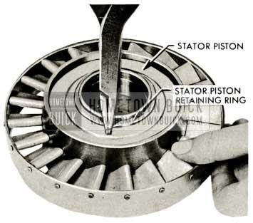 1959 Buick Triple Turbine Transmission - Stator Piston Retaining Ring