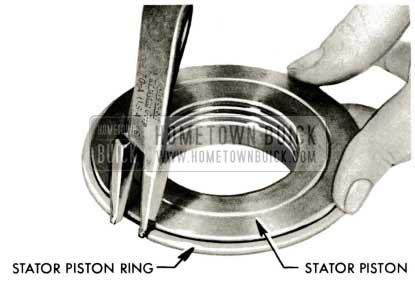 1959 Buick Triple Turbine Transmission - Stator Piston Ring