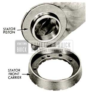 1959 Buick Triple Turbine Transmission - Stator Piston