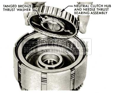 1959 Buick Triple Turbine Transmission - Tanged Bronze Thrust Washer