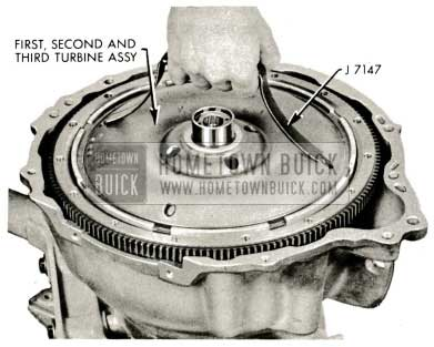 1959 Buick Triple Turbine Transmission - Third Turbine Assemby