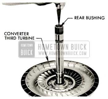 1959 Buick Triple Turbine Transmission - Third Turbine Rear Bushing