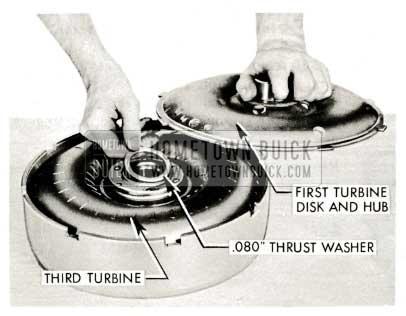 1959 Buick Triple Turbine Transmission - Thrust Washer
