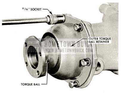 1959 Buick Triple Turbine Transmission - Torque Ball