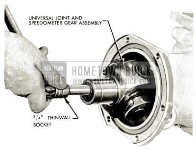 1959 Buick Triple Turbine Transmission - Universal Joint