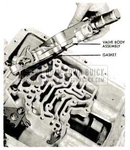 1959 Buick Triple Turbine Transmission - Valve Body Assembly