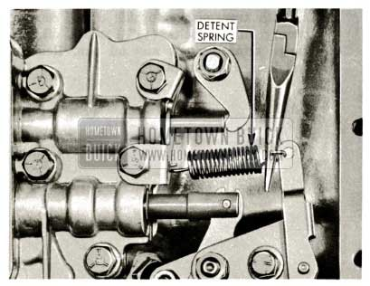 1959 Buick Triple Turbine Transmission - Valve Body Detent Spring