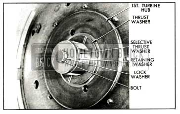 1959 Buick Turbine Retaining Washer and Thrust Washer