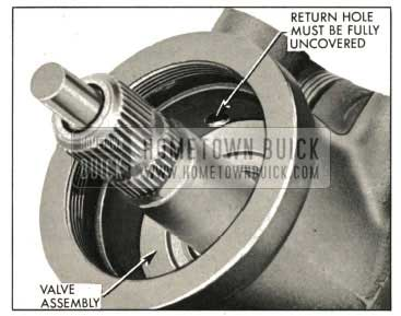 1959 Buick Valve Assembly Properly Installed In Housing