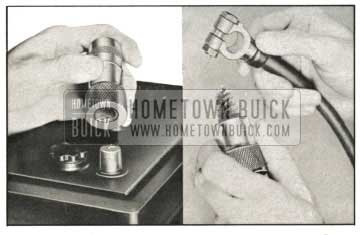 1959 Buick Wire Brushes for Cleaning Battery Posts and Terminal