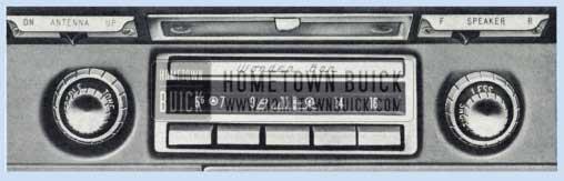 1959 Buick Wonderbar Radio