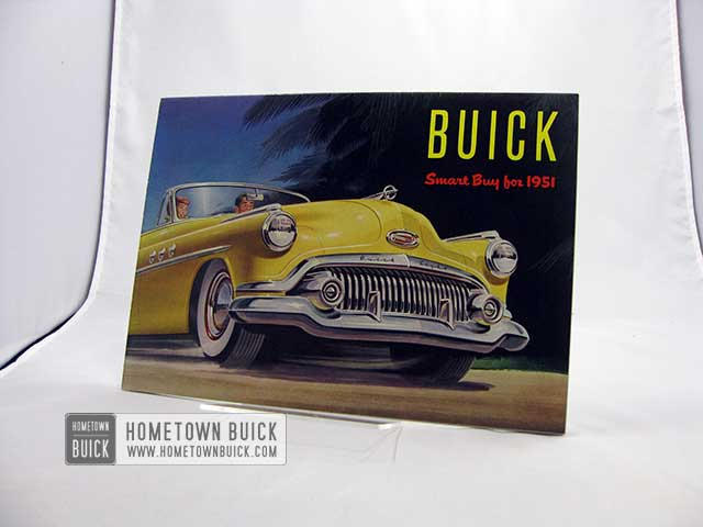 1951 Buick Sales Brochure